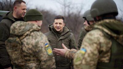 Zelenskiy, yedek askerleri hizmete çağıran yasayı onayladı
