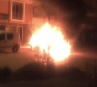 Bursa'da korkutan yangın! Bir anda alev aldı…