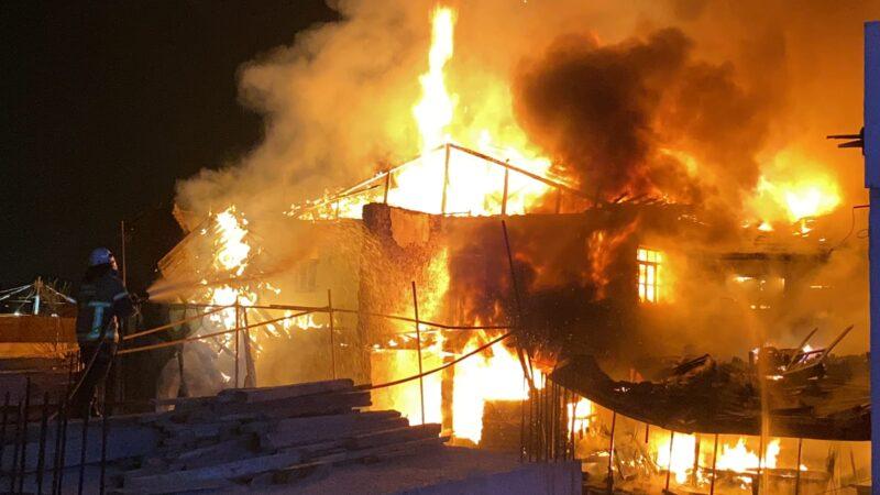 Bursa'da büyük yangın! Haşim İşcan alev alev…