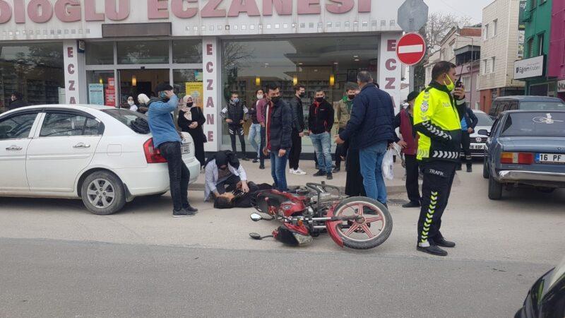 Bursa'da yaralanan annesinin başından ayrılmadı