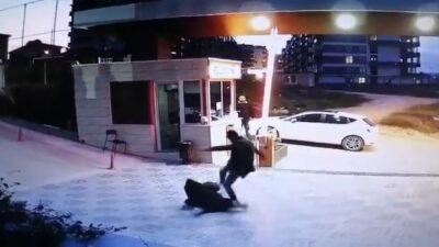 Bursa'da darp edilen güvenlikçi konuştu
