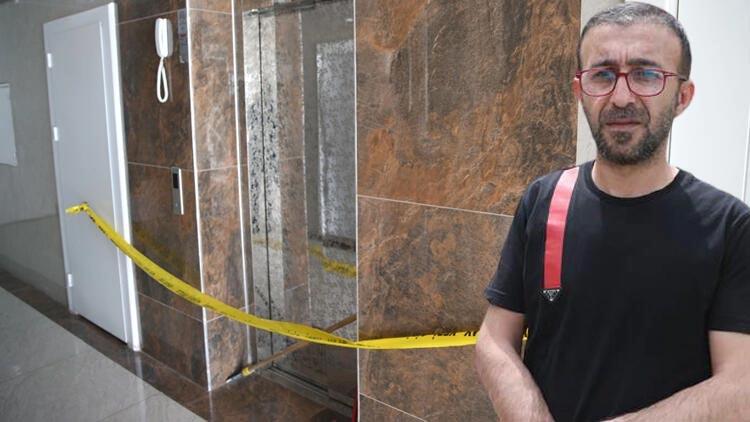 Korkunç olay! Asansör 11. kattan yere çakıldı… Korumak için oğluna sarılan babanın durumu ağır