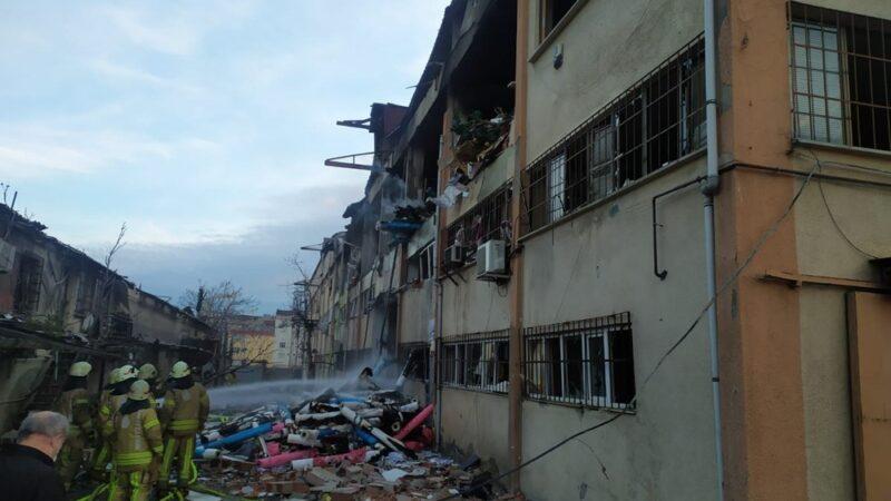 Ambalaj fabrikasında patlama