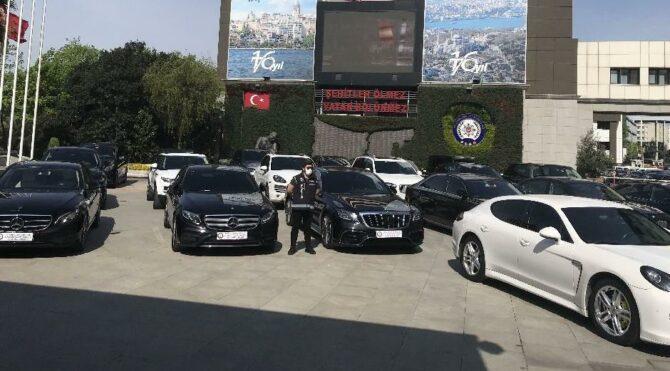 Lüks araç operasyonu! 24 otomobil, milyonlarca lira zarar