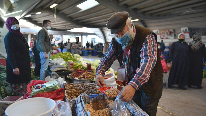 Osmangazi'de tam kapanmada kurulacak pazarlar belli oldu