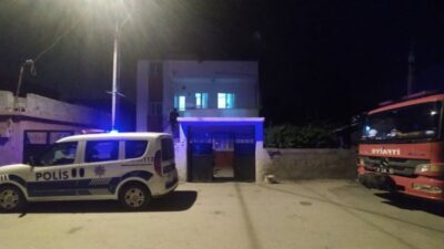 Bursa'da uyuyakalan kadın itfaiye ve polisi alarma geçirdi