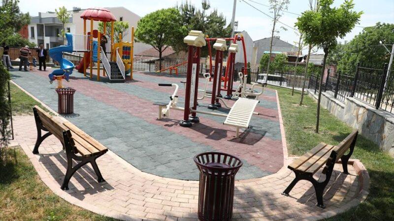 İnegöl modern parklarla donatılıyor
