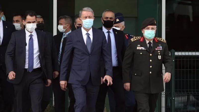 Milli Savunma Bakanı Akar'dan kritik ziyaret