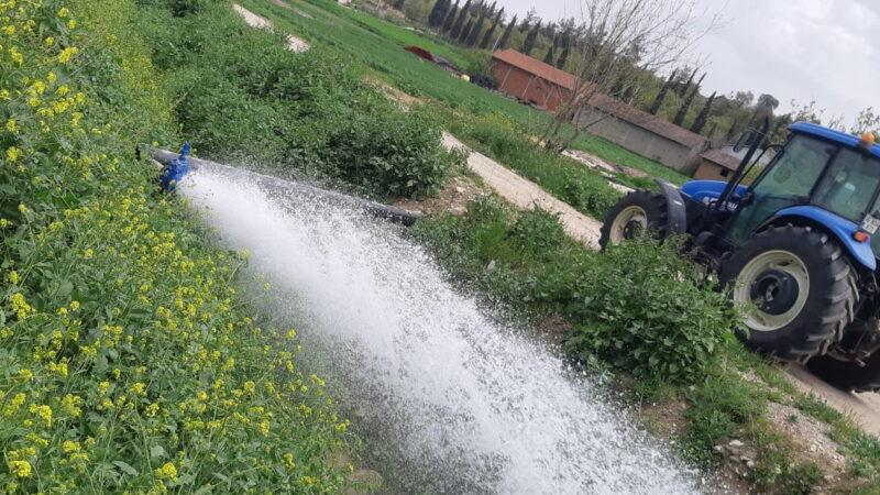 3 milyonluk proje ile su taşımaya son