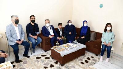 Zulme uğrayan Filistin'e Bursa'da güçlü destek