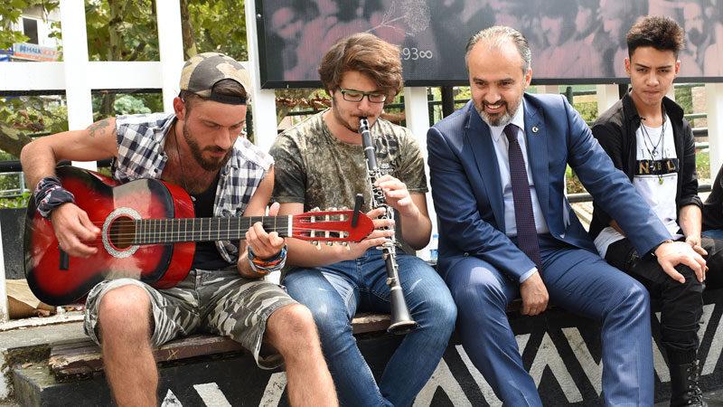 Bursa Sokak Sanatçıları Festivali başlıyor