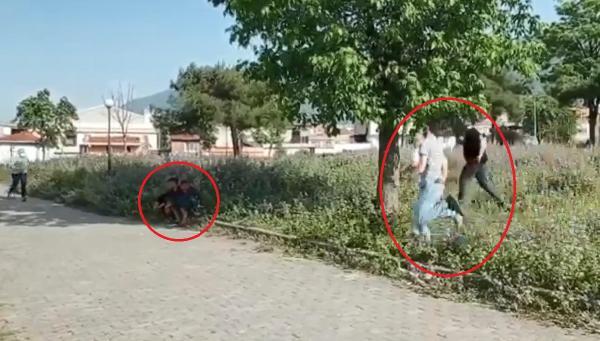 Görüntüler Bursa'dan… Böyle yakalandılar