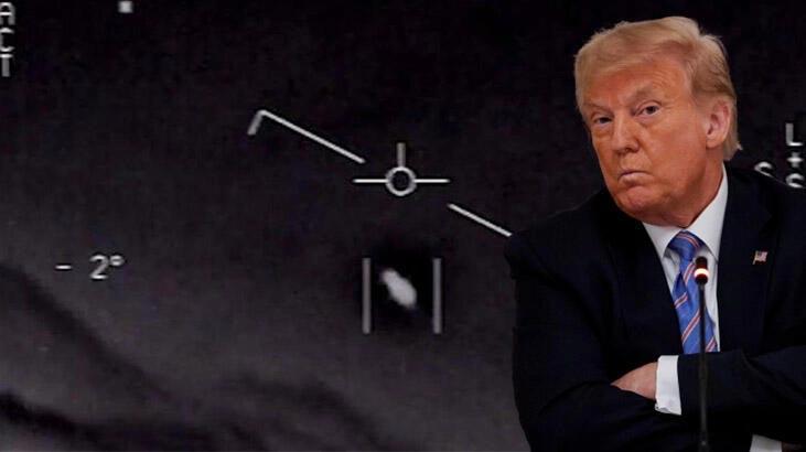 Trump'tan flaş UFO açıklaması!