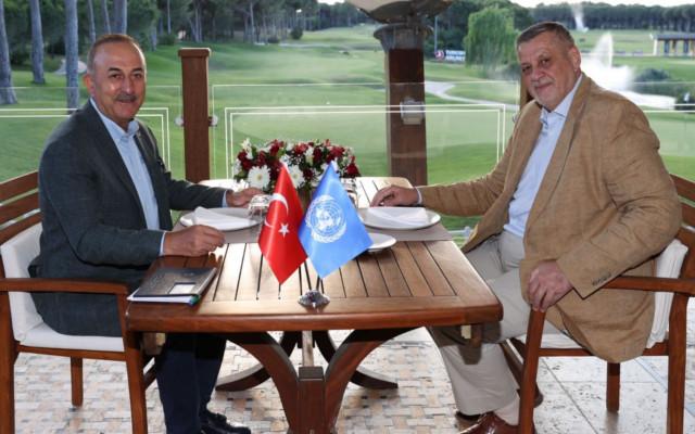 Bakan Çavuşoğlu, BM Libya Özel Temsilcisi ile görüştü