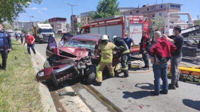 Bursa'da feci kaza! Ortalık savaş alanına döndü