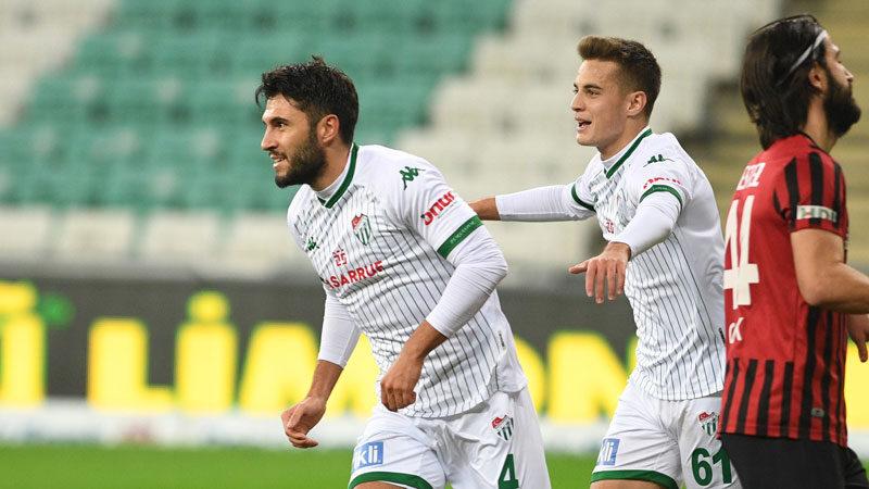 'Bursaspor'da devam etmek istiyorum'