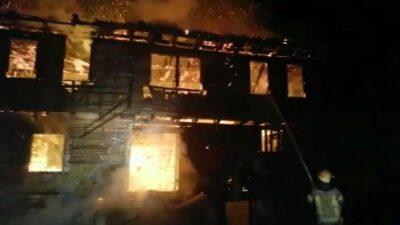 Bursa'da yangın paniği! Alev alev yandı