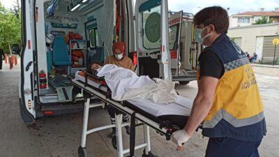 Yer: Bursa… Küçük çocuk koltuk sayesinde ölümden döndü