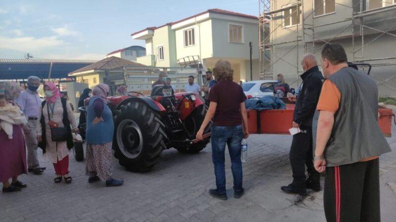 Bursa'da pazaryerinde feci olay