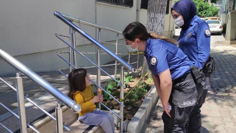 Bursa'da tek başına gezerken bulundu! Ailesine teslim edildi
