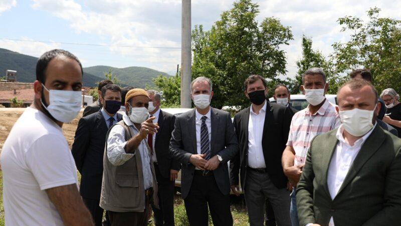 Başkan Taban mevsimlik işçileri ziyaret etti