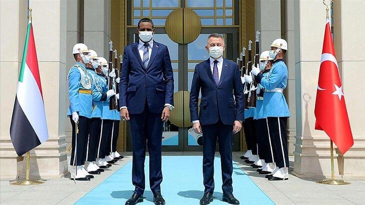 Sudan Egemenlik Konseyi Başkanı'ndan Türkiye'ye teşekkür