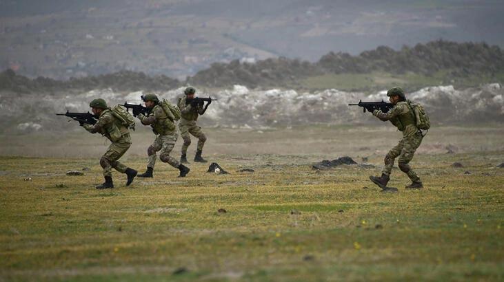İki bölgede toplam 5 terörist etkisiz hale getirildi