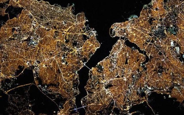 NASA'dan İstanbul paylaşımı! 'Parlıyorsun'