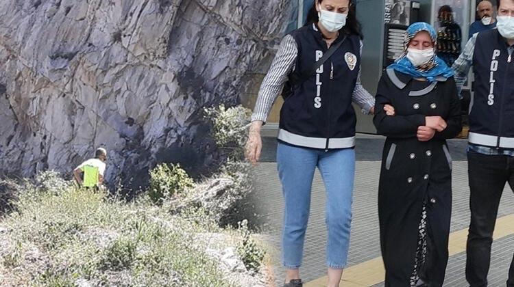Surdan düşen Ferdi'nin ölümünde tutuklu anne itiraf etti! Tekme atıp, ittim