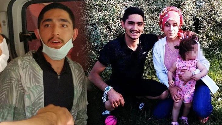 8 aylık hamile eşini öldüren koca tutuklandı, kızı korumaya alındı