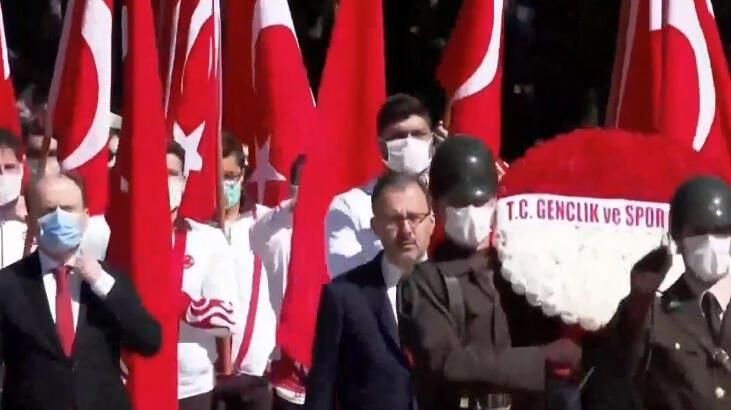 19 Mayıs tüm yurtta kutlanıyor! İlk tören Anıtkabir'de