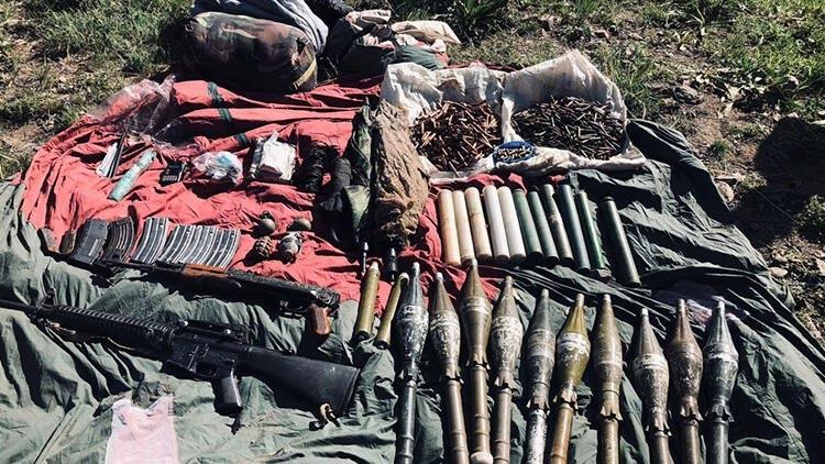 Van'da PKK operasyonu! Hepsi ele geçirildi
