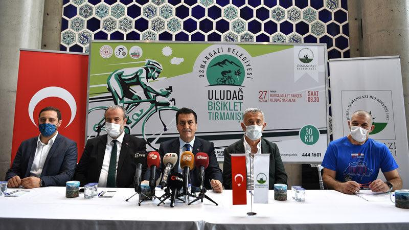 Bisiklet tutkunları Osmangazi'de buluşacak