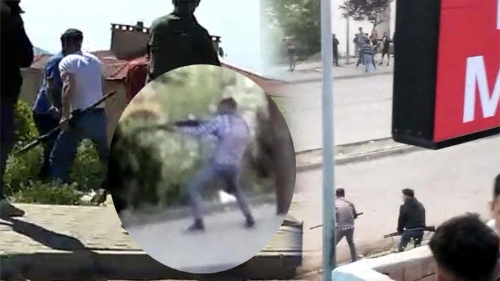 Bir il karıştı! Pompalı tüfekli çatışma: 2 yaralı, 7 gözaltı