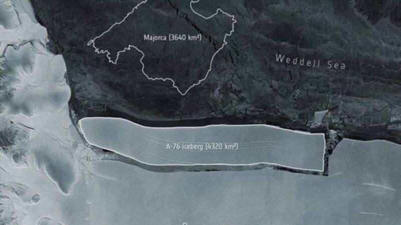 Dünyanın en büyük buzdağı Antarktika'dan koptu: Neredeyse İstanbul büyüklüğünde