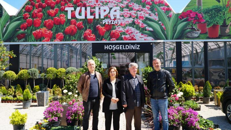 Bursa'nın eşsiz renkleri; TULİPA PEYZAJ'da…