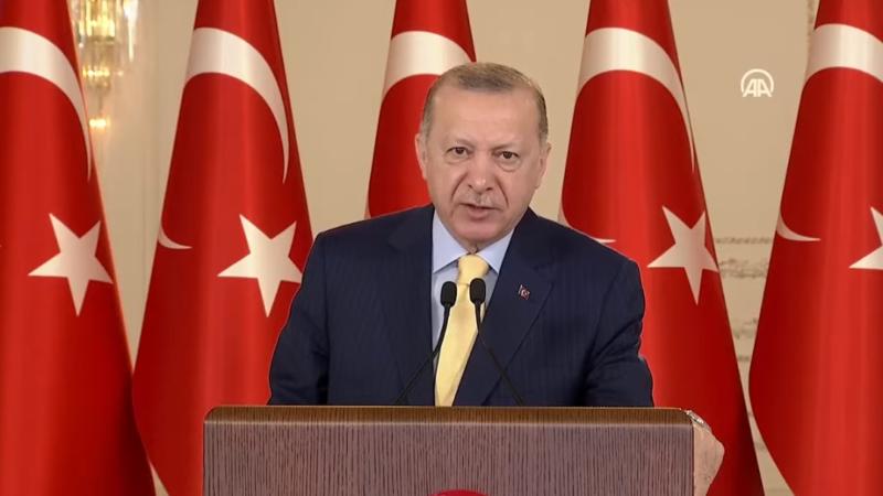 Cumhurbaşkanı Erdoğan'dan önemli Kıbrıs mesajı…