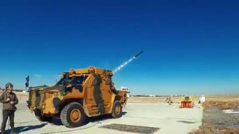 TSK için yeni roketatar sistemi