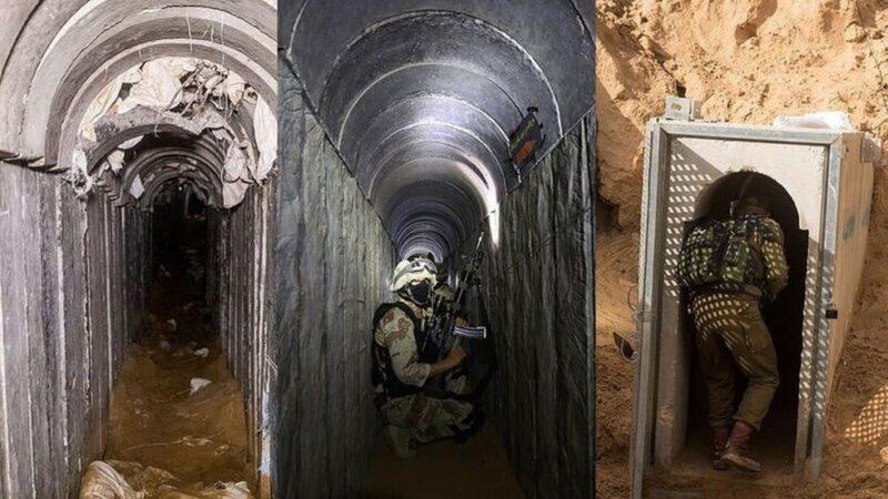 Hamas'ın Gazze'de kullandığı tüneller! İlk kez görüntülendi