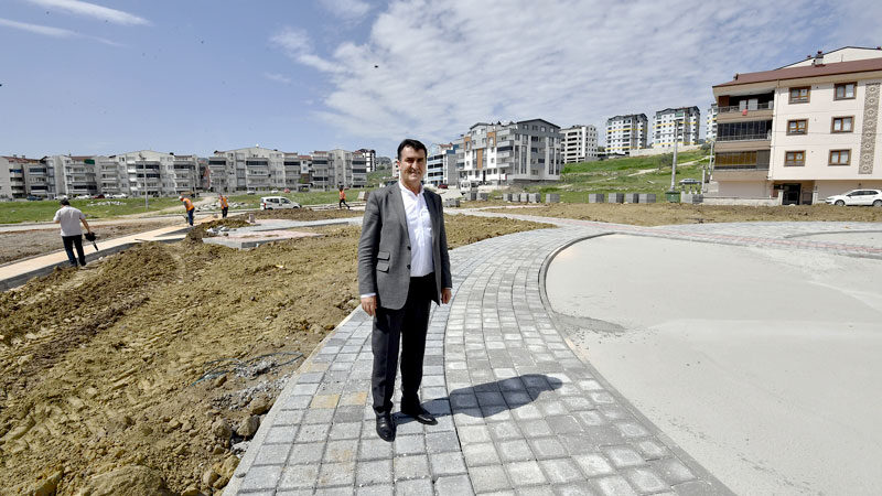 Osmangazi'ye 5 bin metrekarelik yeni bir park
