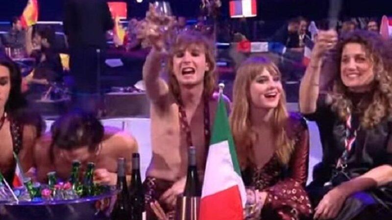 Eurovision'da uyuşturucu skandalı! Canlı yayında böyle görüntülendi…