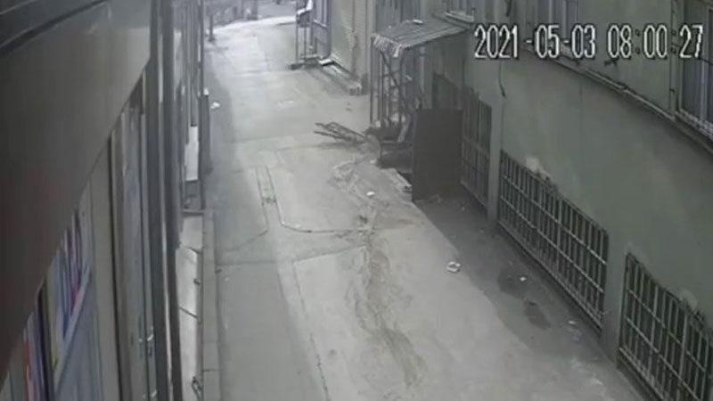 Bursa'da feci olay! Genç adam böyle düştü