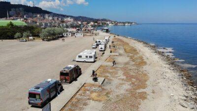 Yer: Bursa… Muhteşem manzaraya karşı bedava tatil yapıyorlar