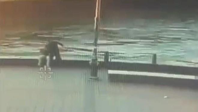 Korkunç cinayet! Sahilde oturan adamı 'Yan baktın' diyerek denize attı