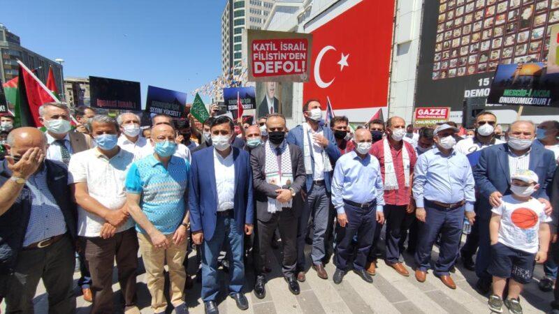Bursa'da halk resmen ayaklandı! Başkan Aktaş da katıldı…