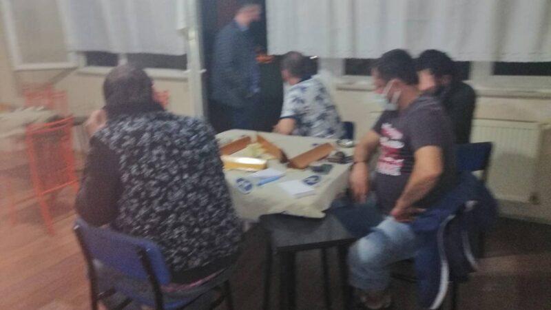 Bursa'da spor kulübü lokaline kumar baskını!