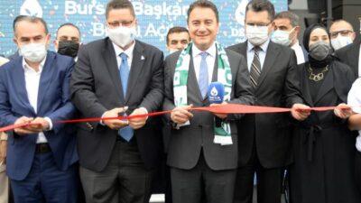 DEVA Partisi Genel Başkanı Ali Babacan Bursa'da…