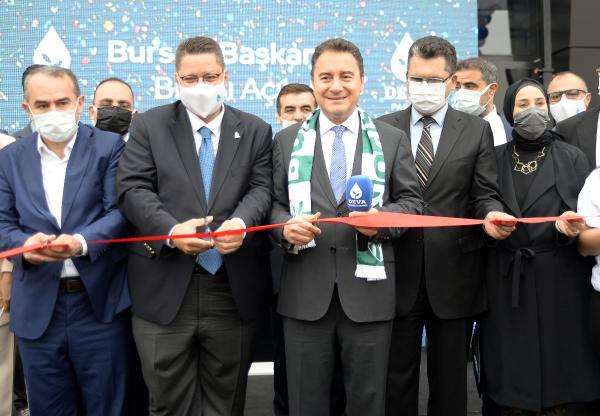 Ali Babacan Bursa'dan seslendi!