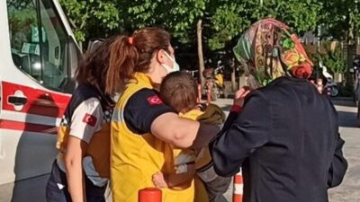 Bursa'da feci olay! 3 yaşındaki çocuk…