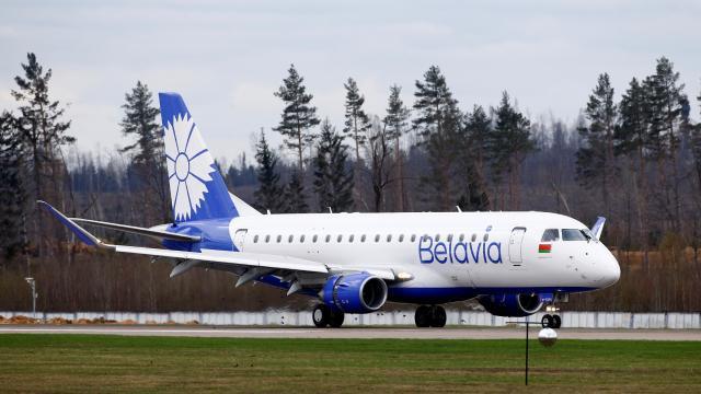 Belaruslu hava yolu şirketi Belavia'dan uçuş iptali açıklaması